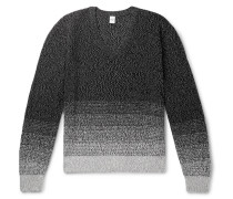 Cotton And Mulberry Silk-blend Sweater - Black