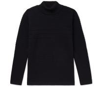 Mediator Virgin Wool Mock-Neck Sweater