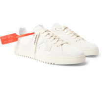 2.0 Leather-Trimmed Suede Sneakers