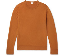 Slim-Fit Watercolour-Dyed Cashmere Sweater