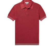 Foret Slim-Fit Knitted Cotton Polo Shirt