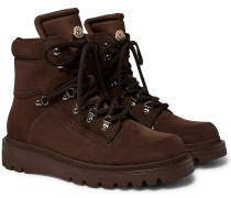 Egide Suede and Nylon Boots