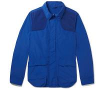 Contrast-trimmed Shell Field Jacket