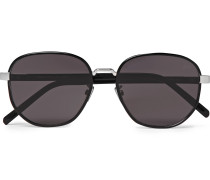 Spectre Round-Frame Acetate and Metal Sunglasses