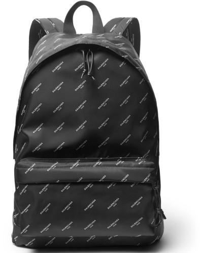 Explorer Printed Nylon Backpack