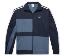 Colour-Block Shell Track Jacket