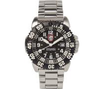 Navy Seal Colormark 3152 Series Stainless Steel Watch - Black