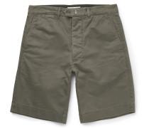 Fisherman Cotton-twill Shorts