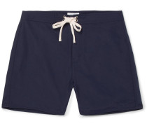 Colin Mid-length Swim Shorts - Navy