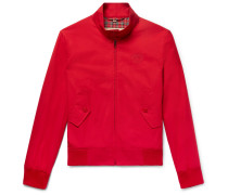Slim-fit Cotton-twill Blouson Jacket