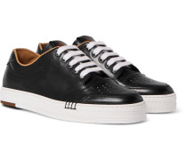 Playtime Leather Sneakers - Black
