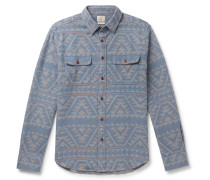 Canyon Organic Cotton-Jacquard Overshirt