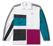 Color-Block Shell Track Jacket