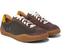 Lars Mesh And Suede Sneakers