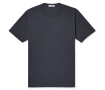 Slim-Fit Slub Cotton-Jersey T-Shirt