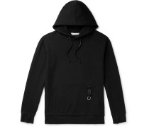 Slim-Fit Stretch-Jersey Hoodie