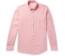Sander Slim-Fit Linen Shirt