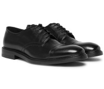 Leather Oxford Shoes - Black