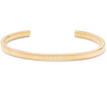 Thread Gold-Plated Cuff