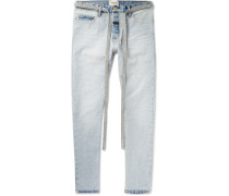 Slim-fit Denim Jeans - Light blue