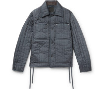 Quilted Shell Jacket - Gray