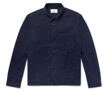 Orb Denim Jacket - Dark denim