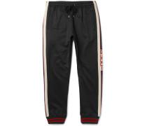 Striped Tech-jersey Sweatpants