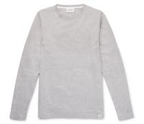 Niels Mélange Cotton-jersey T-shirt