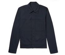 Jamie Stretch Cotton-blend Jacket - Navy