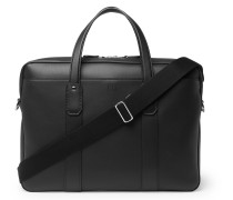 Hampstead Leather Briefcase - Black