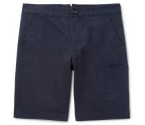 Judo Slim-Fit Cotton Shorts