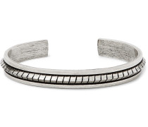 Burnished Silver-tone Cuff