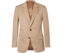 Eggsy's Beige Herringbone Cotton Suit Jacket