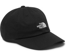 The Norm Logo-embroidered Cotton-blend Twill Baseball Cap - Black