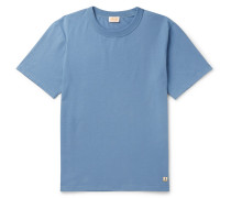 Callac Slim-fit Cotton-jersey T-shirt - Blue