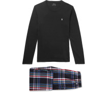Cotton Pyjama Set - Black