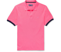 Palatin Contrast-Tipped Cotton-Piqué Polo Shirt