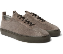 Textured-Suede Sneakers