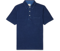 Garment-Dyed Cotton-Jersey Polo Shirt