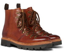 Brady Polished-leather Boots