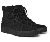 Nubuck Boots - Black
