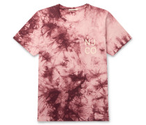 Roy Logo-Print Tie-Dyed Cotton-Jersey T-Shirt
