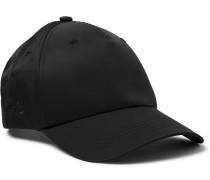 Logo-Embroidered Nylon and Cotton-Blend Twill Baseball Cap