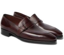 Alwyn Leather Loafers - Burgundy