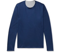Reversible Cotton-Jersey Sweater