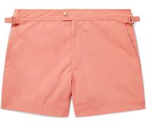 Slim-Fit Short-Length Swim Shorts