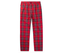 Bryan Checked Woven Trousers
