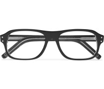 + Cutler and Gross Rectangle-Frame Acetate Optical Glasses