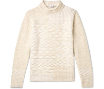 Textured Wool and Cashmere-Blend Sweater