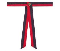 Pre-tied Embellished Grosgrain Bow Tie